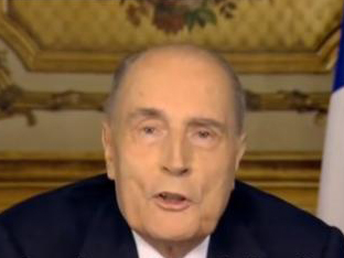 Cancer caché de Mitterrand