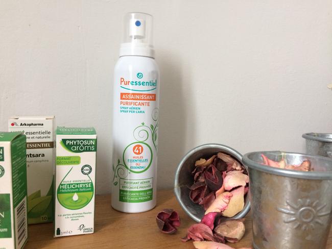 spray assainissant aux 41 huiles essentielles