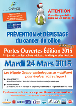 Journée de dépistage du cancer colorectal