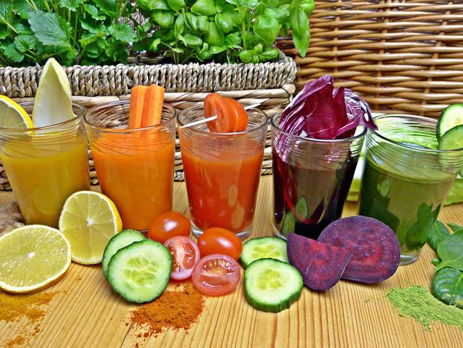fruits et légumes avec fibres