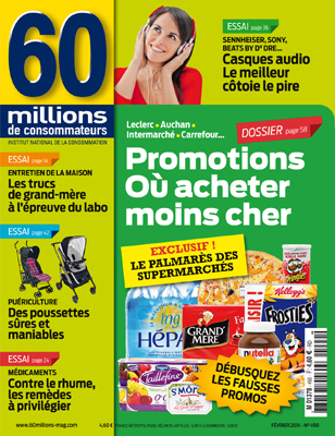 60 millions de consommateurs février 2014