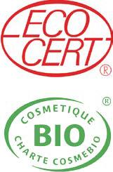 Cosmétiques Cosmébio agréés par Ecocert
