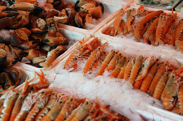 fruits de mer riches en magnésium
