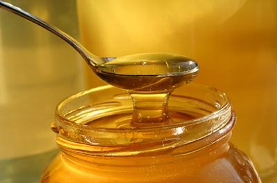 Miel dans les tisanes